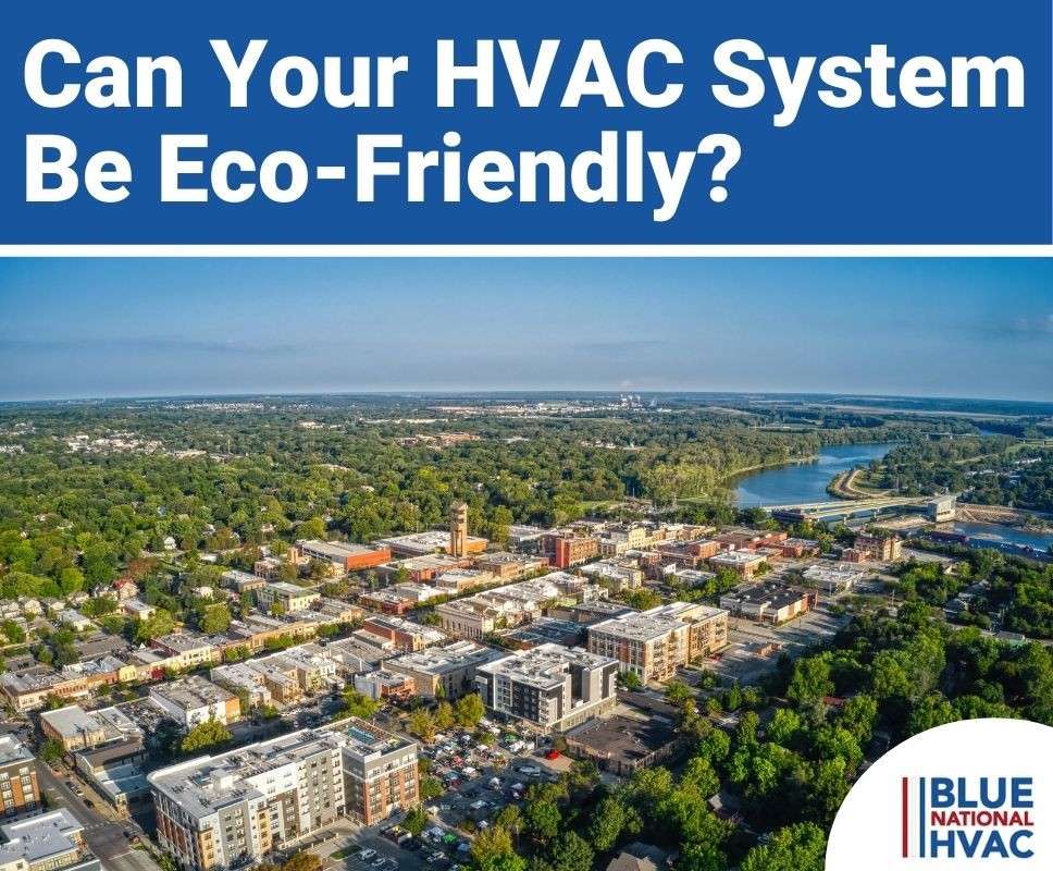 can hvac systems be eco-friendly