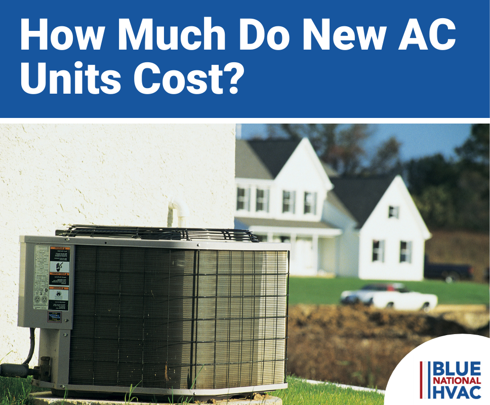 How Much Do New AC Units Cost?