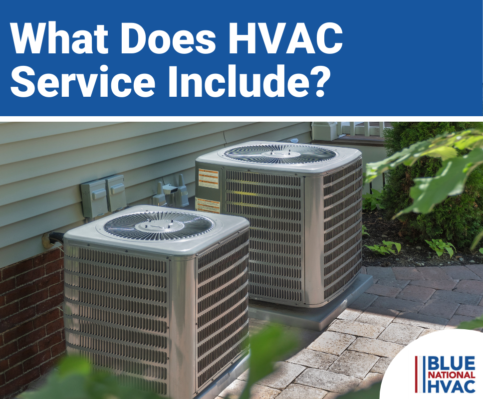 What Does HVAC Service Include?