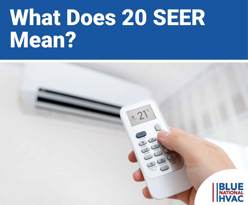 What Does 20 SEER Mean?