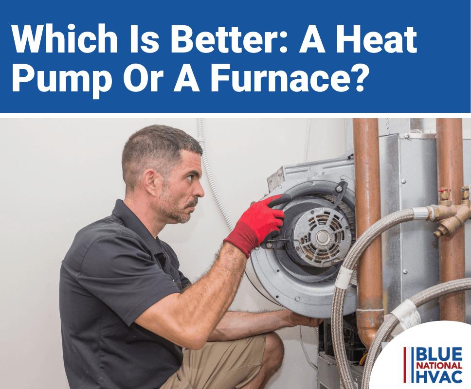 Heat Pump vs. Furnace