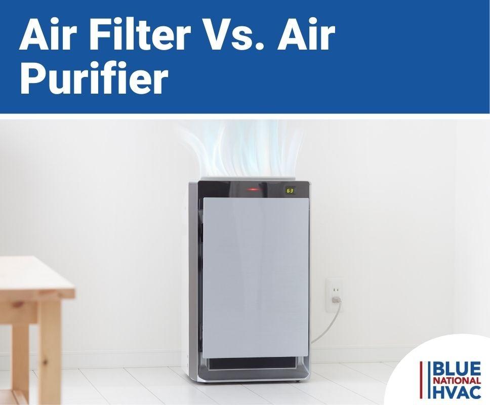 Air Filter Vs. Air Purifier