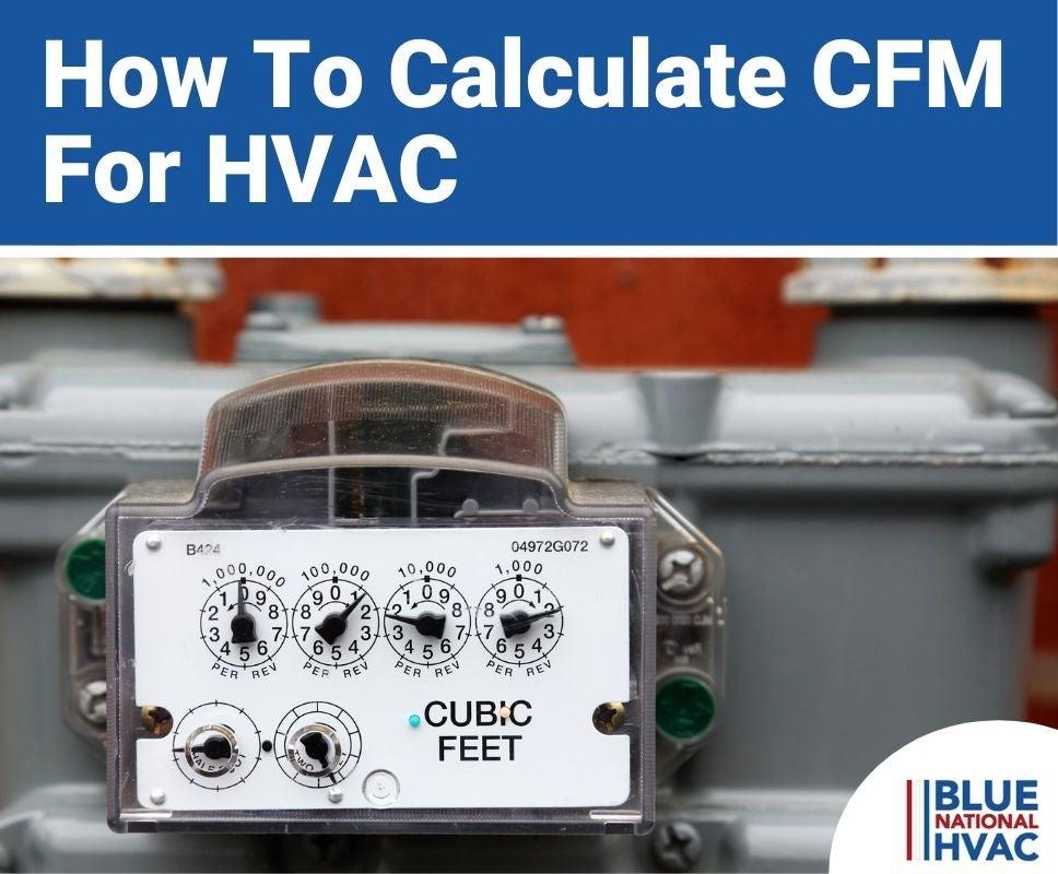 Calculate CFM For HVAC(1)