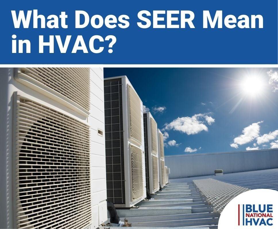 SEER Mean in HVAC